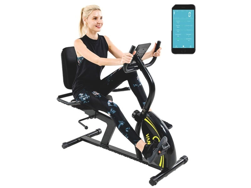 Vanswe-Recumbent-Exercise-Bike-16-Resistance-380-lbs.