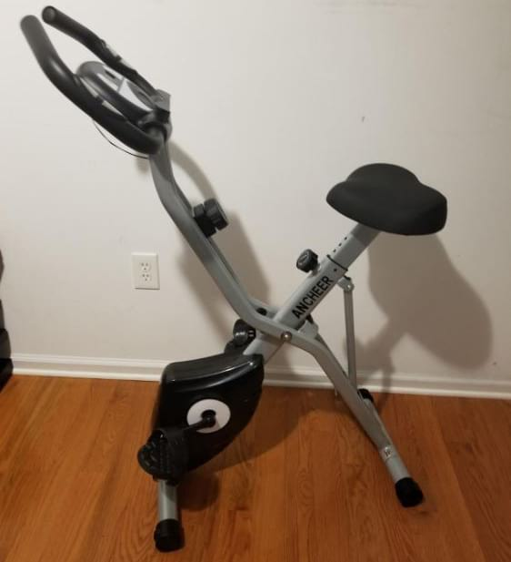 Ancheer folding exercise bike