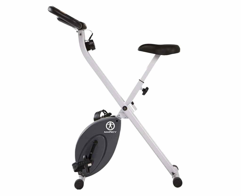 Marcy NS652 Foldable upright exercise bike