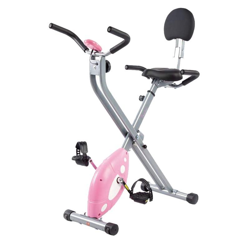 Sunny Health & Fitness SF-RB1117 folding semi-recumbent bike