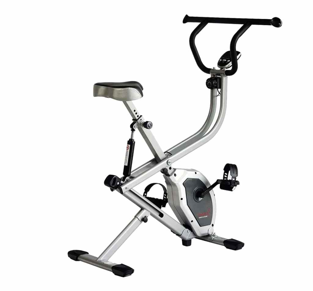 Sunny Health and Fitness SF-B2620 foldable dual action exercise bike