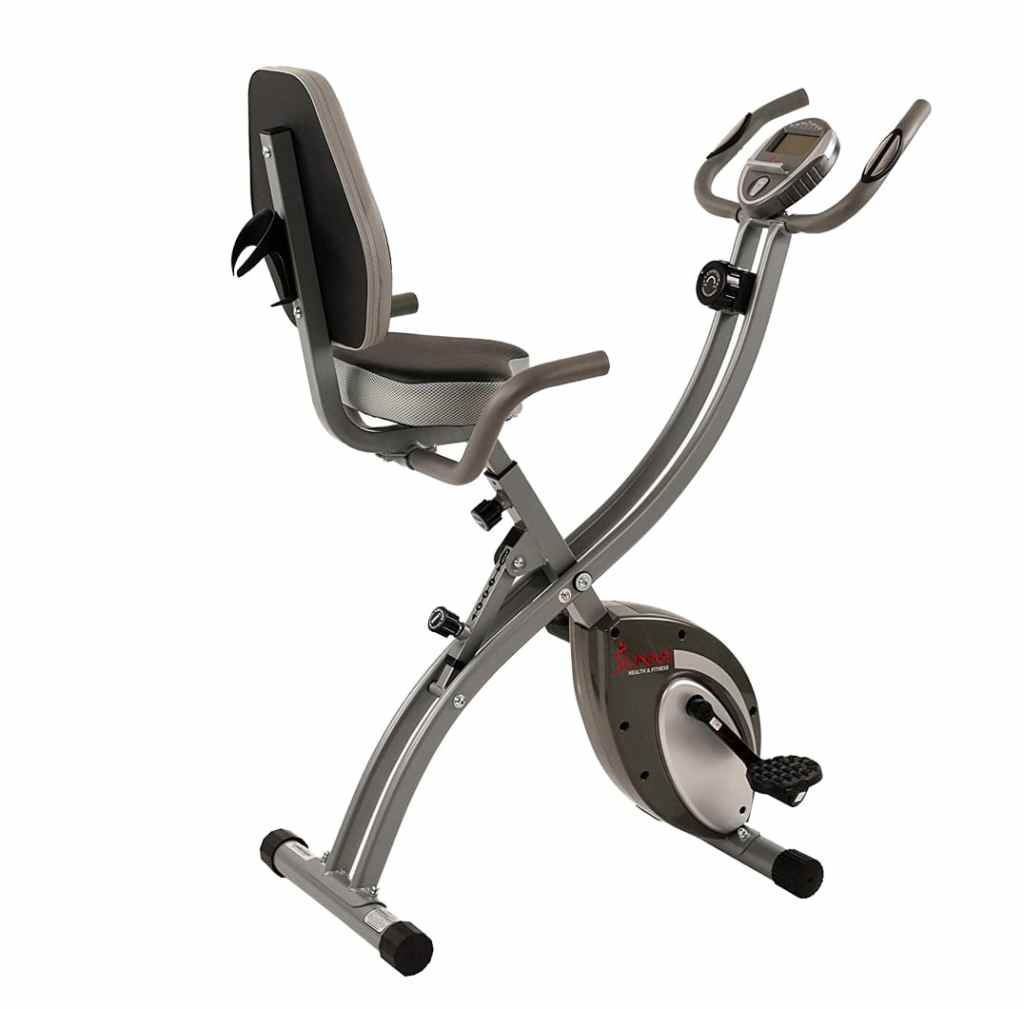 Sunny Health and Fitness SF B2721 foldable exercise bike
