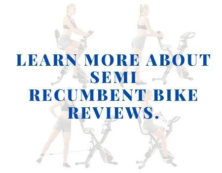 Semi Recumbent Bike Reviews