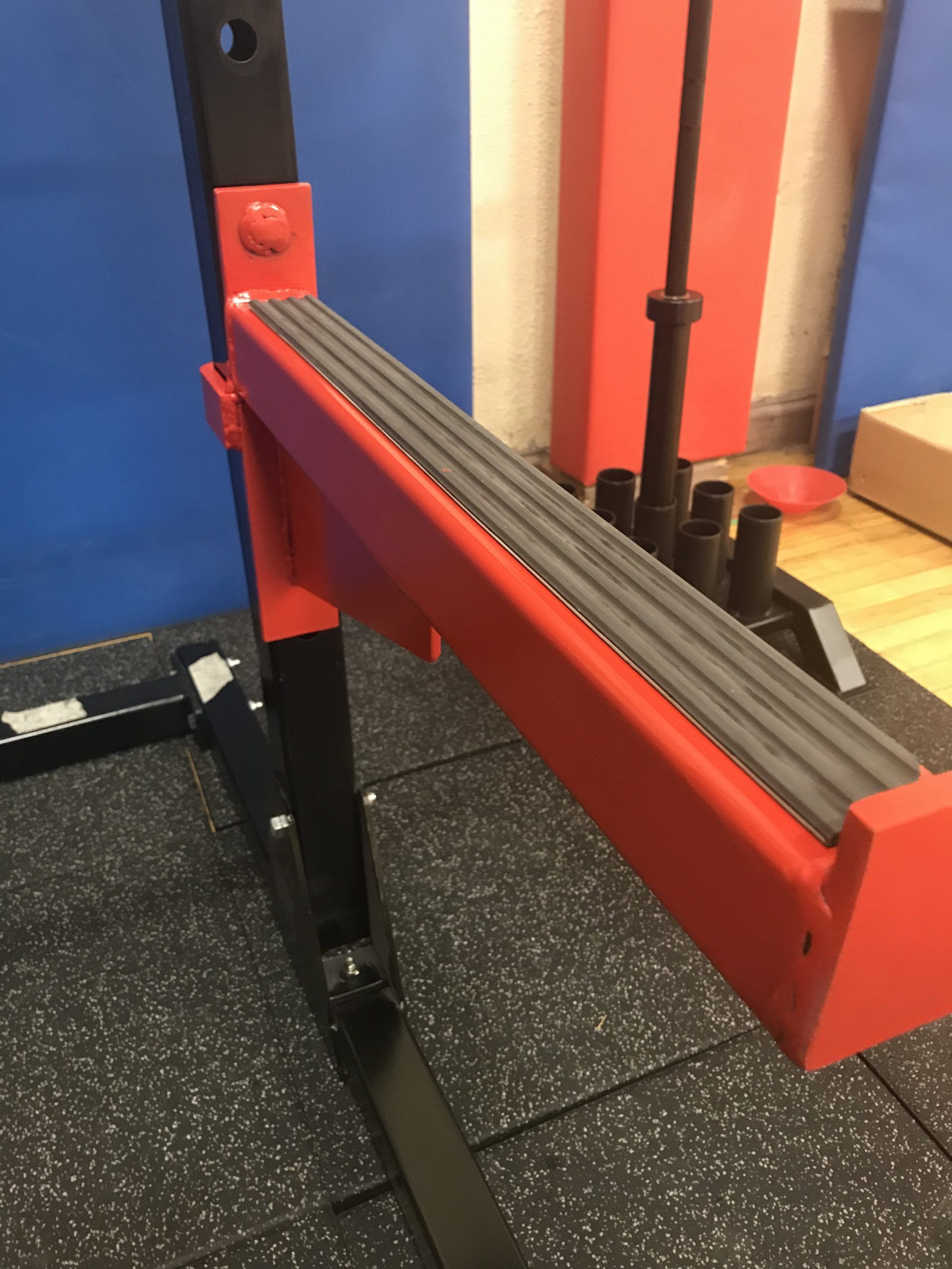 safety spotter arms x2 for gt1 gt2 racks