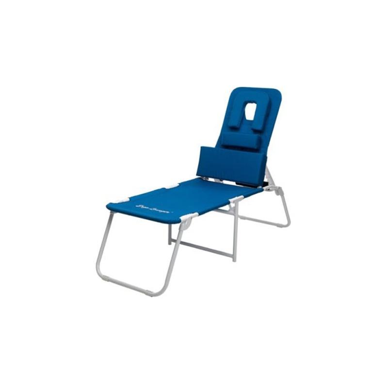 face down pool chair