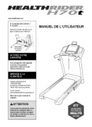 HealthRider H70t-Treadmill Manual Downloads