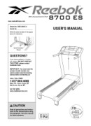 Reebok 8700es-Treadmill Manual Downloads