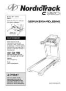 NordicTrack C320i-Treadmill Manual Downloads