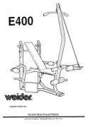 Weider Cobra 400 Home Gym Manual Downloads