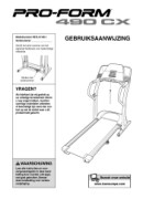 ProForm 490 Cx Treadmill Manual Downloads