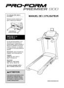 ProForm Premier 900 Treadmill Manual Downloads