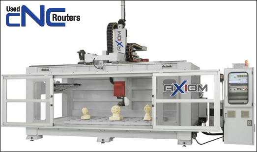 Used Axiom Cnc Router