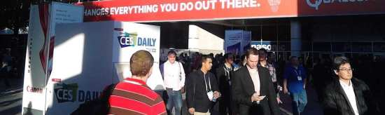 International CES attendees at Las Vegas Convention Center