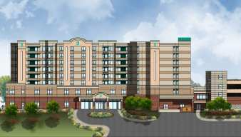 Privately-owned hotel planned next to the Wilmington Convention Center.