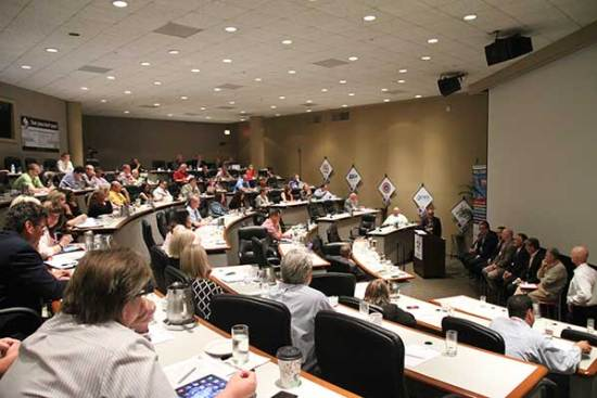 Exhibition and event industry professionals attended Red Diamond Congress on Jul. 28-31, 2014.
