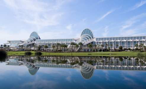 Orange County Convention Center in Orlando underwent an expansion and renovation to meet demands.