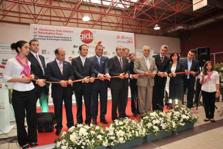 International draw of food & beverage suppliers at WorldFood Istanbul.