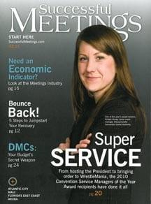 ECN 092014_NTL_CSM of the Year Award - Successful Meetings mag cover