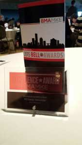 ECN 042015_MDW_MG Design awarded for marketing excellence - Award