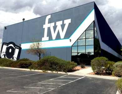 Fresh Wata's new Las Vegas facility.