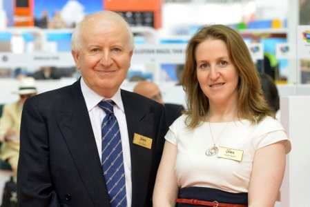 Ray Bloom, IMEX Group Chairman -Carina Bauer, IMEX Group CEO