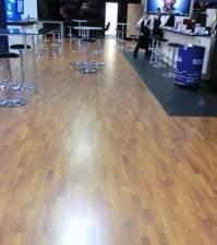 Tradeshow flooring for budget