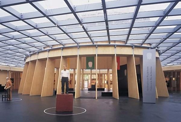 Exhibition Design Vatican Pavilion