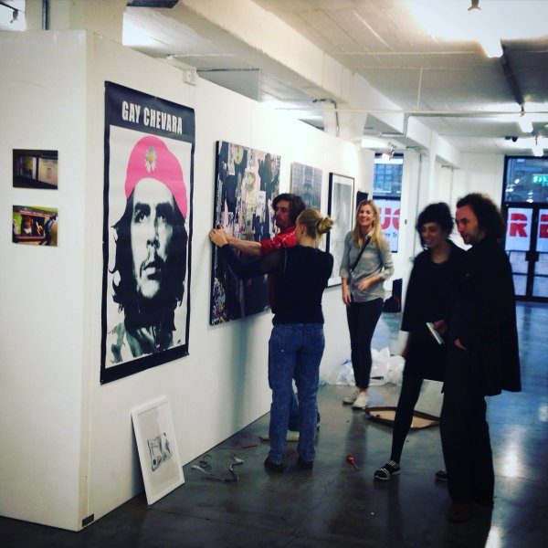 Host Pop- Art Show With Temporary Walling - Exhibition Walls