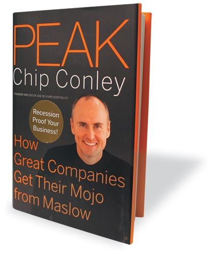 PEAK book by Author Chip Conley
