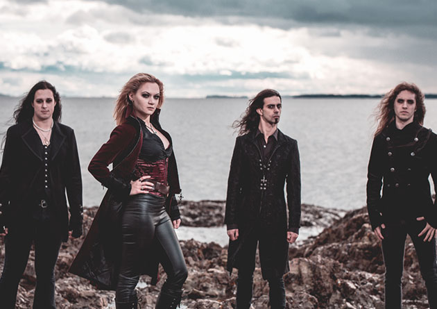 "Seven Spires To Release ""Emerald Seas February 14th via Frontiers Music Srl – Video For New Single ""Succumb"" Available Now"