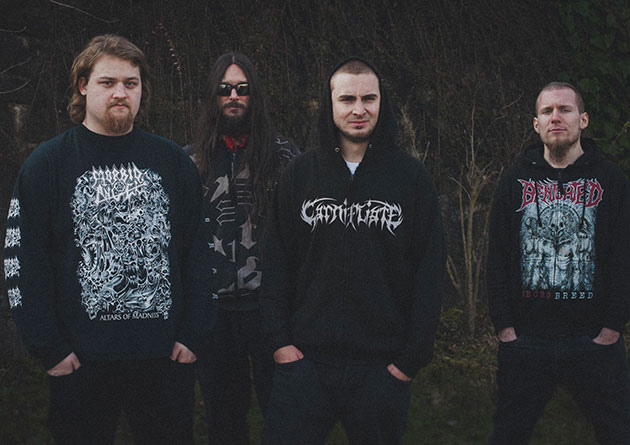"Carnifliate: ""Disgusting Festivities"" – Slovenian death grinders with humor, vulgar and explicit contents and savage music"