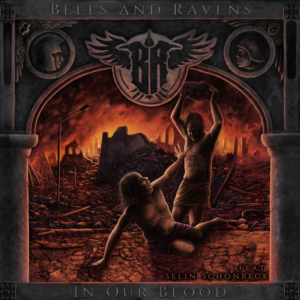 "BELLS AND RAVENS fascinate now on their debut album ""In Our Blood"" with a masterful symbiosis of Metal and Classic"