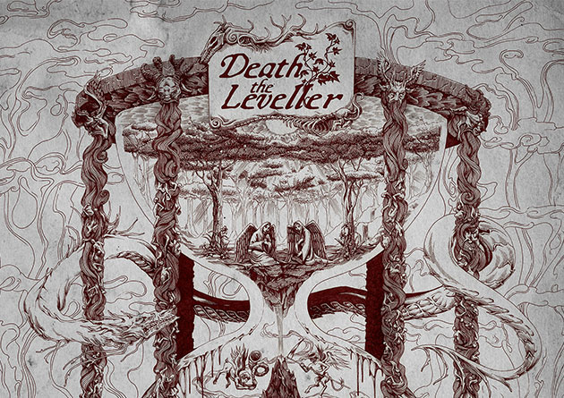 Cruz Del Sur Music proudly presents the debut full-length from Ireland's DEATH THE LEVELLER!