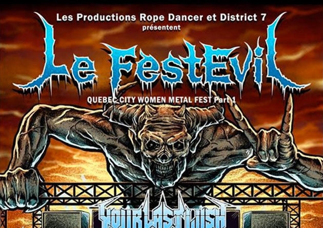 Quebec City's Le FestEvil – Women In Metal Festival Announces Line Up