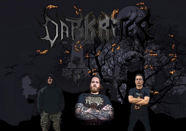 "DARK RITES ""The Dark Hymns"" Premiere Word lyrics Video Animation ""Goliath the Coward"""