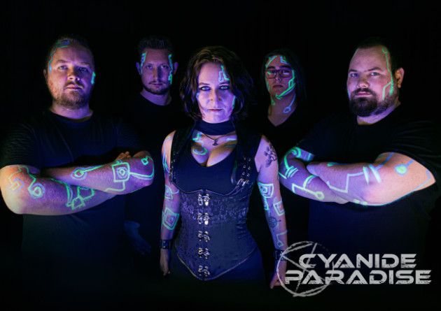 "Dutch melodic deathmetal-band Cyanide Paradise released the lyric video for their new single ""Downfall"""