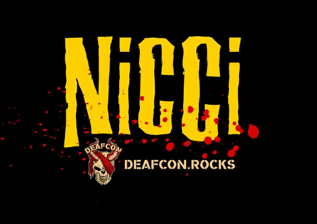 "Belgian rock and roll-band DEAFCON has released a new single and video: ""NICCI"" based on the novel ""Hidden Smile"""