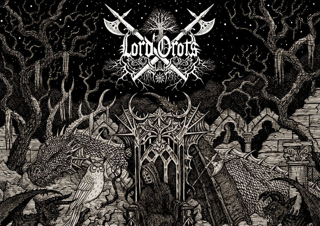 Onism Productions present the new album from mysterious atmospheric black metal/dungeon synth entity Lord Orots