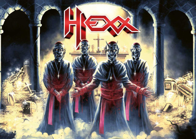 HEXX – Entangled In Sin – High Roller Records