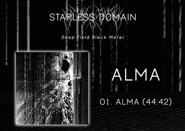 "Starless Domain (USA) ""ALMA"" – Black Metal via Aesthetic Death – Out Now"
