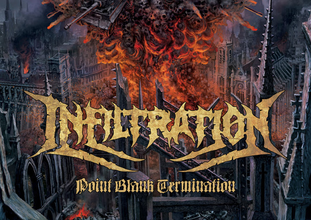 "INFILTRATION: Russian death metallers premiere new album ""Point Blank Termination"""