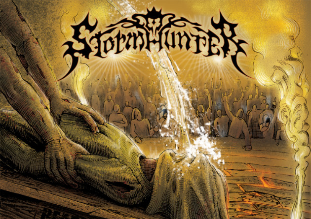 STORMHUNTER – Ready For Boarding (EP)  – G.U.C. / Metal-Store24