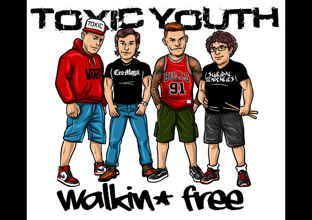 WTF Records is more than proud to have signed the legendary TOXIC YOUTH from Milano, Italy