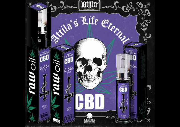 ATTILA'S LIFE ETERNAL: Legendary Hungarian Extreme Metal Vocalist Attila Csihar Launches Limited Edition 6.66% CBD Oil