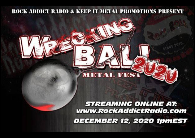 Wrecking Ball Metal Fest is Dropping the Ball Online December 12th