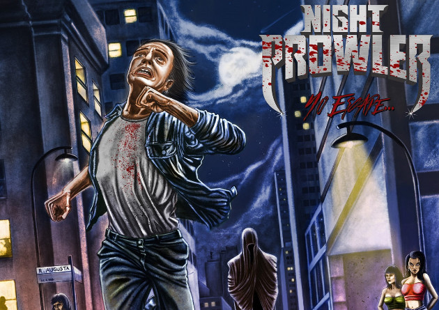 NIGHT PROWLER's stellar debut album, No Escape via Dying Victims Productions