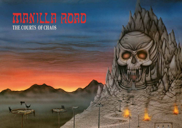 MANILLA ROAD – The Courts of Chaos (Re-Release) – High Roller Records
