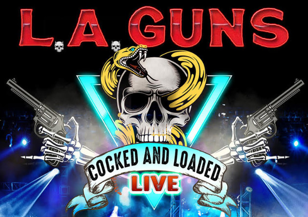 "L.A. GUNS Announces New Live Album ""COCKED & LOADED LIVE"" Due July 9, 2021"