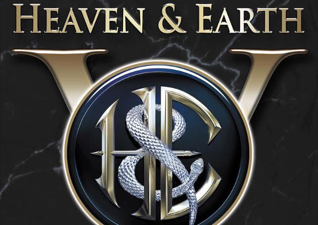 """HEAVEN & EARTH Announce New Album –  Fifth Studio Album, """"V"""" Due July 16, 2021"""