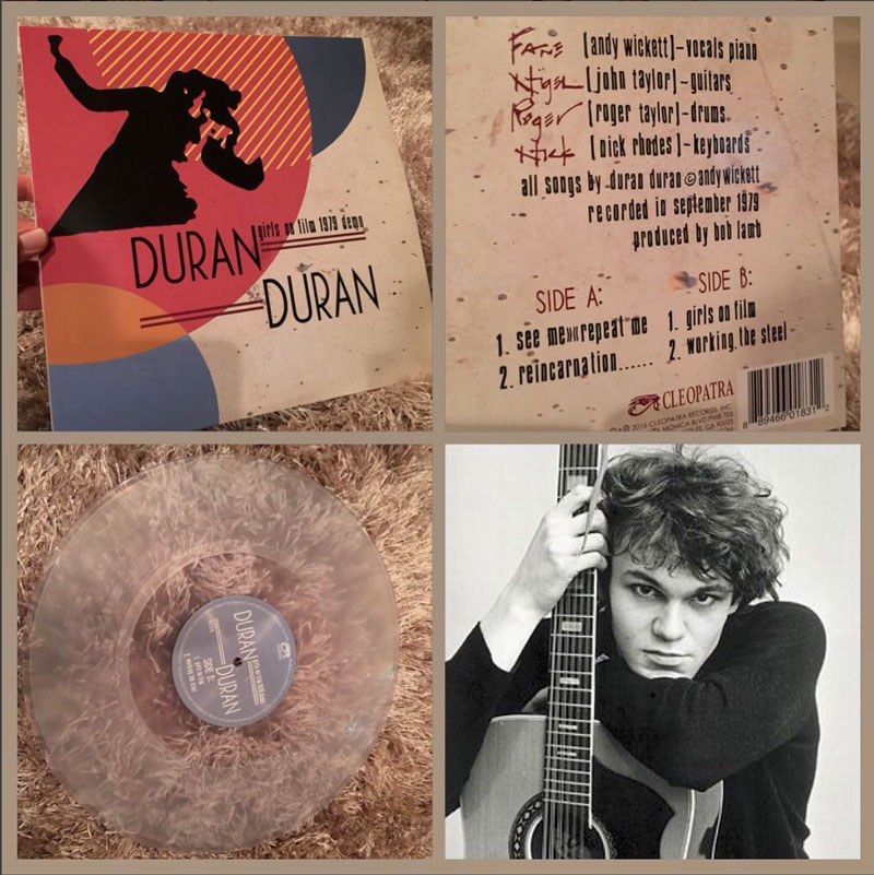 Duran Duran Girls On Film 1979 Demo Cleopatra Records
